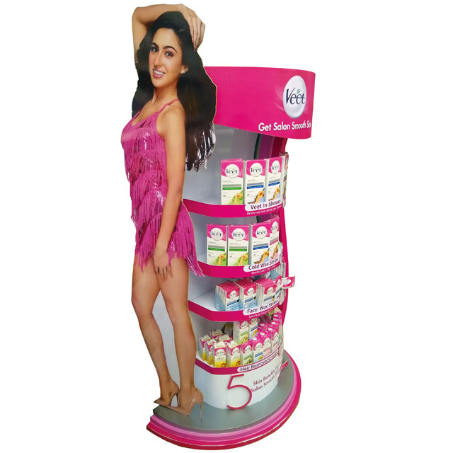 Veet Floor Display