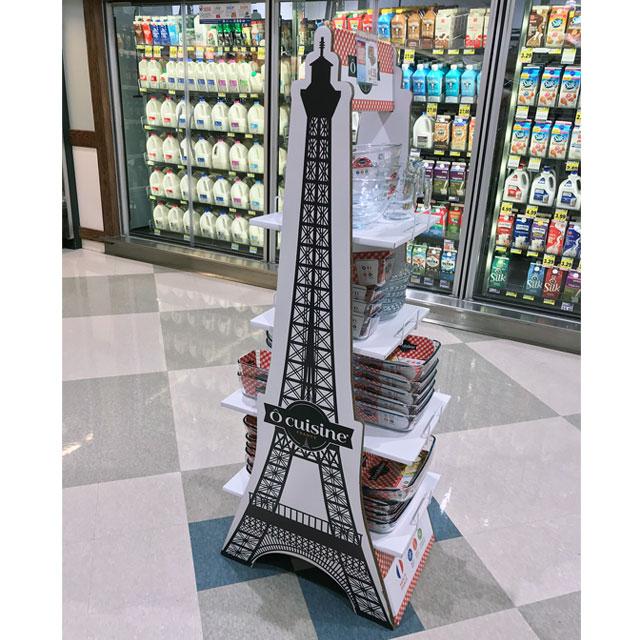 Ocuisine Eiffel Tower Display