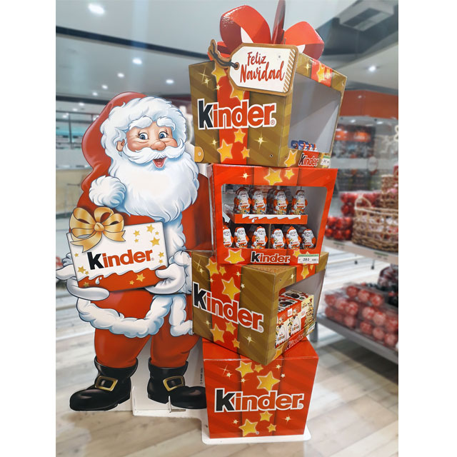 Kinder Holiday Display