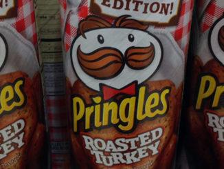Pringles Introduces Roasted Turkey Crisps
