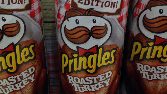 Pringles Introduces Roasted Turkey Crisps