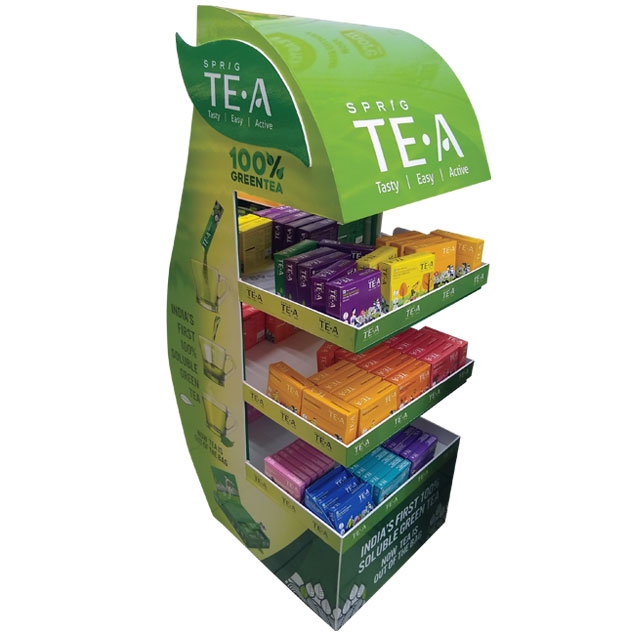 Sprig Tea Floor Display