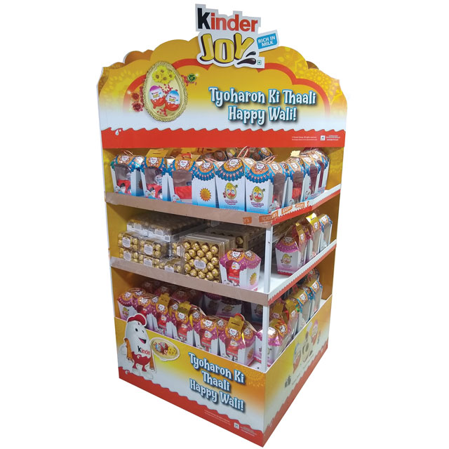 Kinder Joy Happy Wali Display