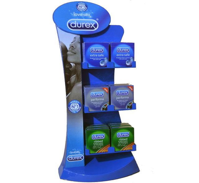 Durex Counter Display