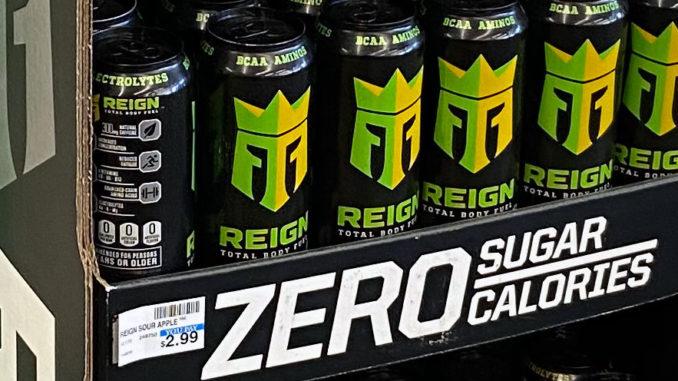 Reign Body Fuel Floor Display