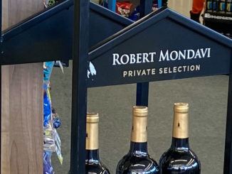 Robert Mondavi Wine Display
