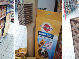 Pedigree Dentastix Floor Display