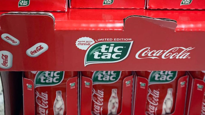 Limited Edition Coca-Cola Tic Tac