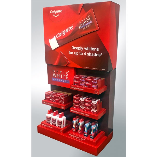 Colgate End Cap Display