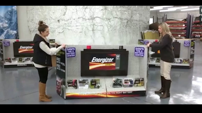 Energizer Display