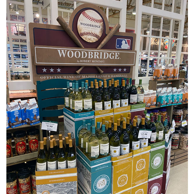 Robert Mondavi Wine Display