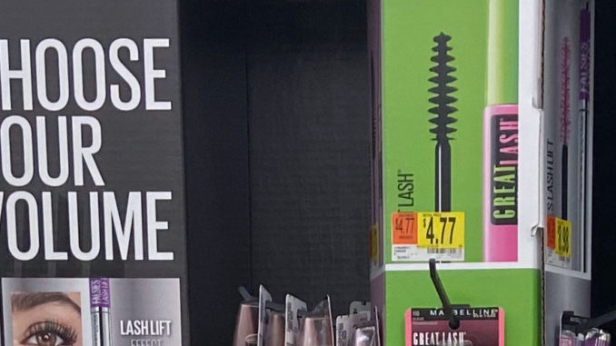 Maybelline End Cap Display