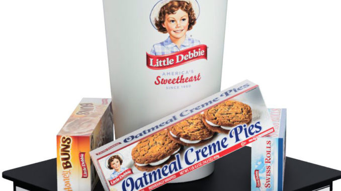 Little Debbie Display Topper