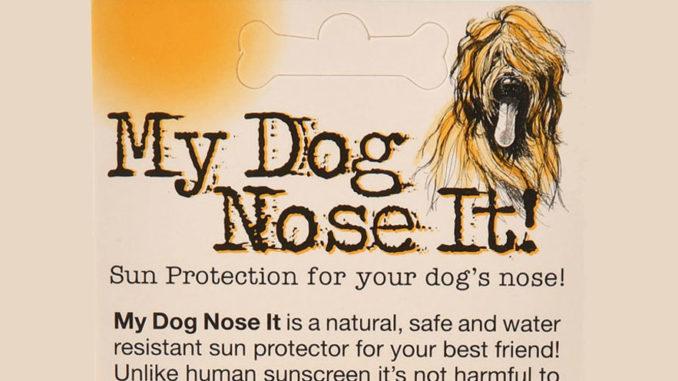 My Dog Nose It
