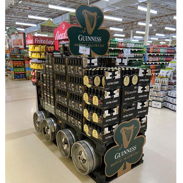 Guinness Beer Train